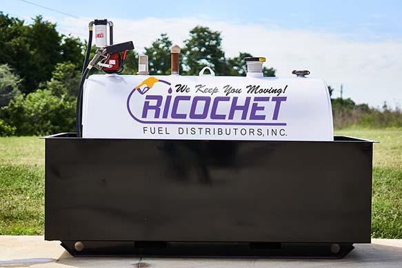 Ricochet Fuel Distributors Tank